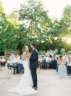 Classic First Dance at Kestrel Park in Santa Ynez, California