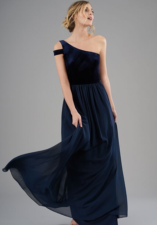 B2 Bridesmaids by Jasmine B203066 One Shoulder Bridesmaid Dress