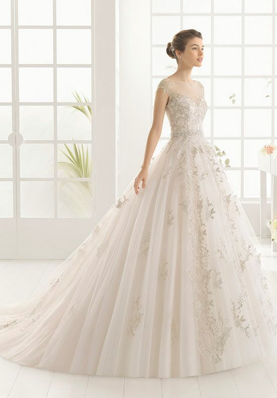 Aire barcelona monaco wedding dress the knot for The knot gift registry