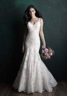 Allure Couture C504 Sheath Wedding Dress