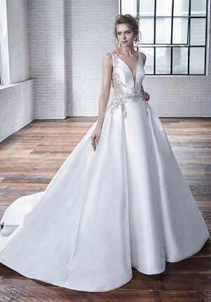 Badgley Mischka Bride Calla A-Line Wedding Dress