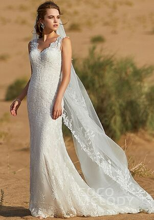 CocoMelody LD5806 Mermaid Wedding Dress