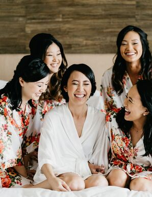 Bridesmaid Robes, Floral