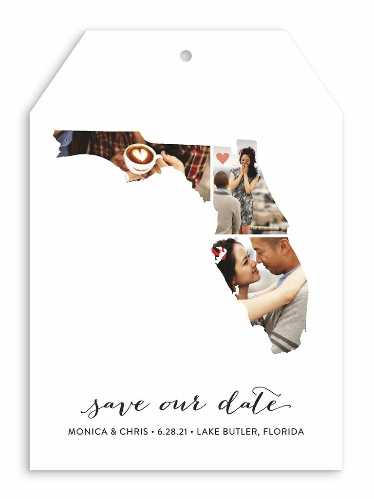 Minted photo destination wedding save-the-date