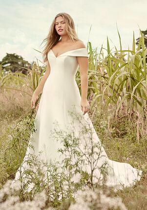 Rebecca Ingram CORAL A-Line Wedding Dress