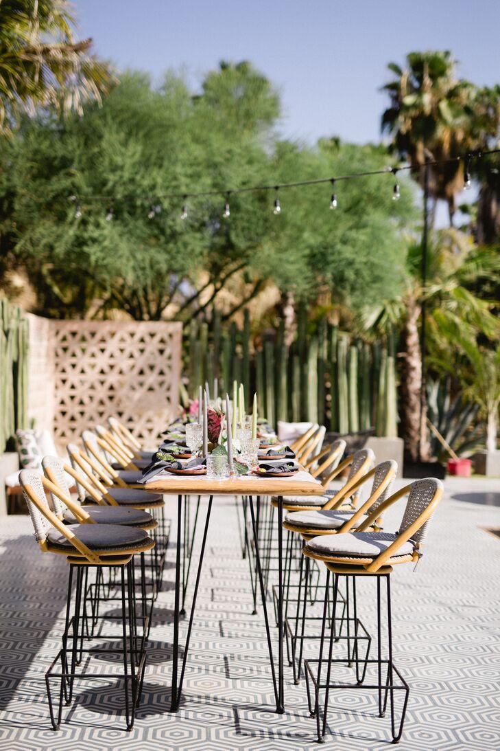 Modern Bohemian Reception Tables