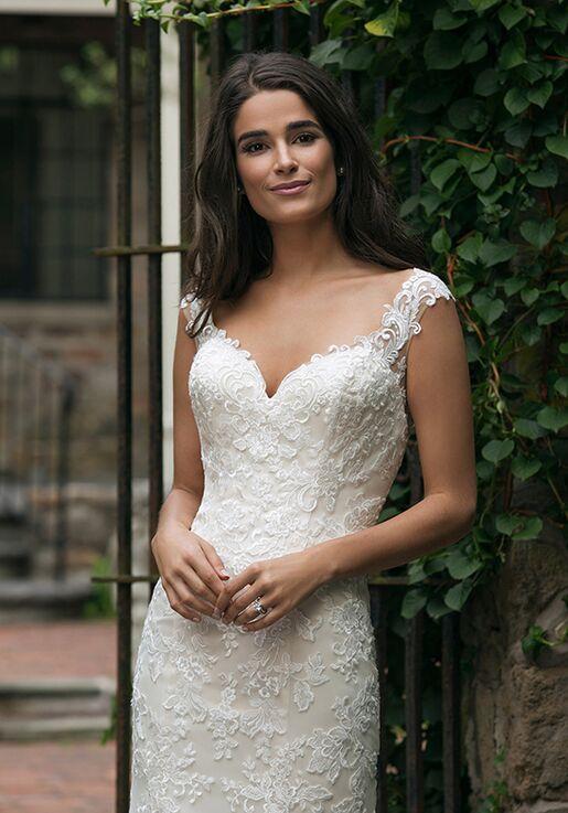 Sincerity Bridal 44054 Sheath Wedding Dress