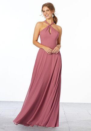 Morilee by Madeline Gardner Bridesmaids Style 21670 Halter Bridesmaid Dress