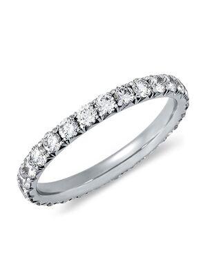 Blue Nile 17388 Platinum Wedding Ring
