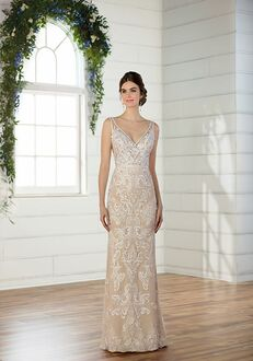 Essense of Australia D2472 Sheath Wedding Dress