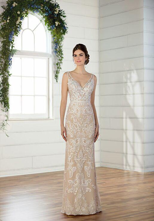 buying cheap designer fashion classic shoes Essense of Australia D2472 Wedding Dress   The Knot