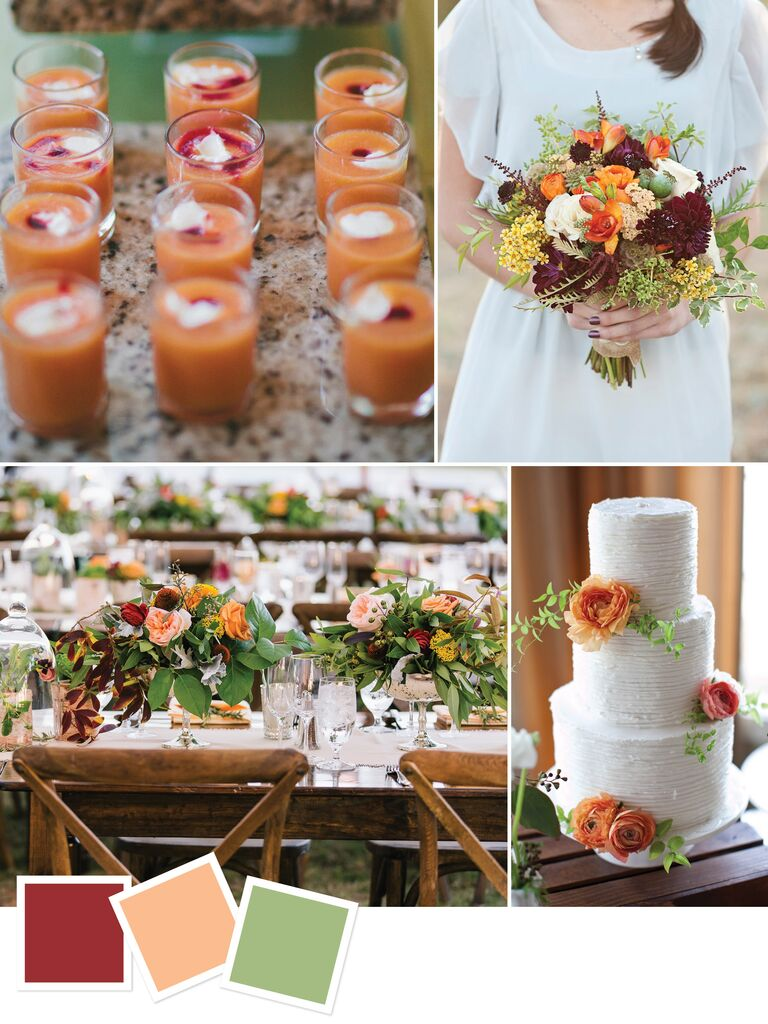 15 Wedding Color Combos You\'ve Never Seen