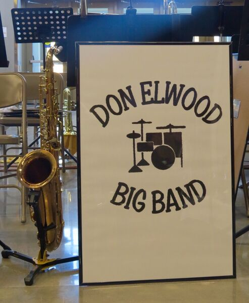 Don Elwood Big Band - Berthoud, CO