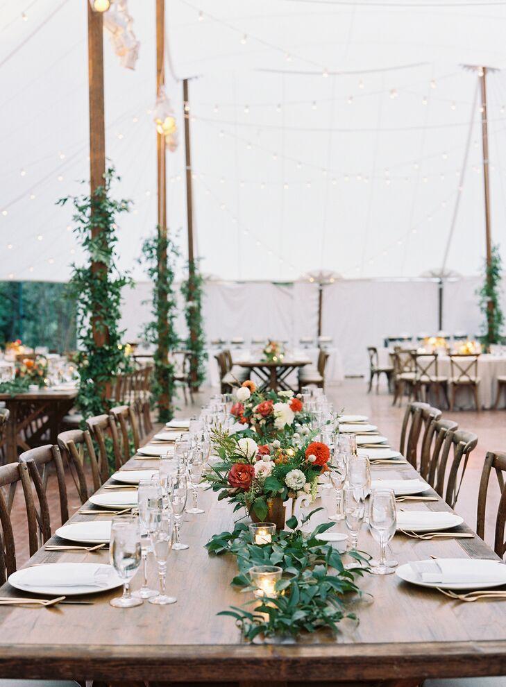 Tented Garden Wedding at The Clifton Inn in Charlottesville, Virginia
