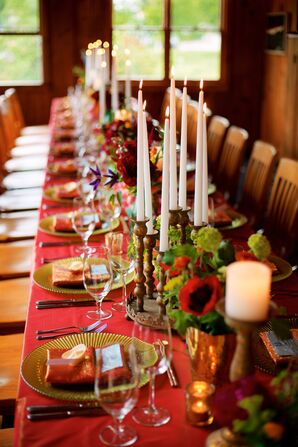 Sophisticated Candle Centerpieces