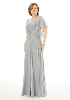 MGNY 72206 Silver Mother Of The Bride Dress