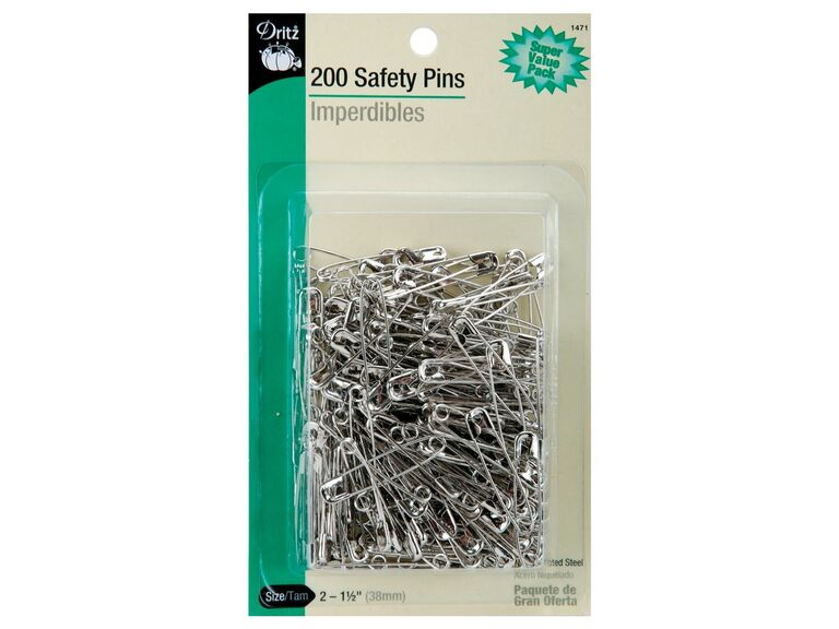 pack of safety pins