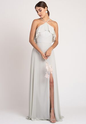 Jenny Yoo Collection (Maids) Jada Halter Bridesmaid Dress