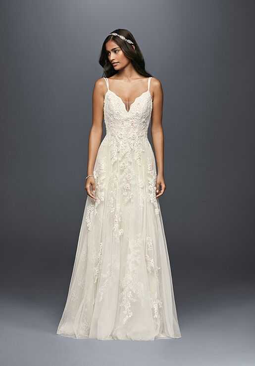 84719cf5130 Melissa Sweet for David s Bridal Melissa Sweet Style MS251177 A-Line  Wedding Dress