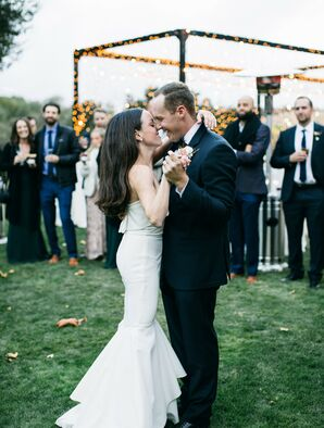Couples Shares First Dance at Santa Lucia Preserve in Carmel, California