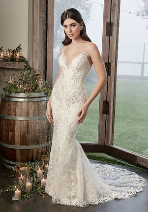 Casablanca Bridal 2424 Brooklyn Mermaid Wedding Dress