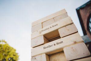 Personalized Jenga Blocks
