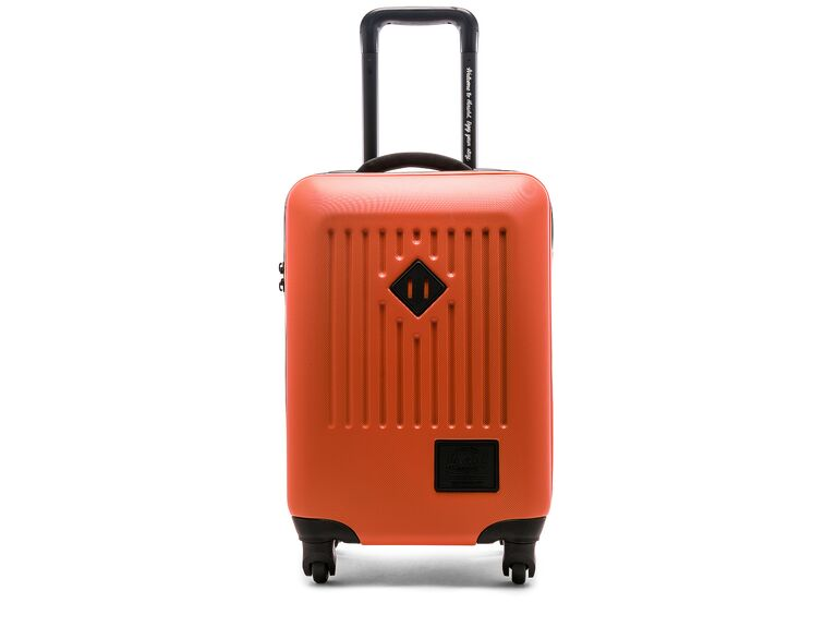 Coral suitcase