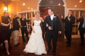 Enzoani Wedding Dress With Crystal Belt