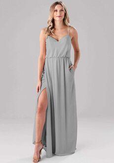 Kennedy Blue Lauren V-Neck Bridesmaid Dress