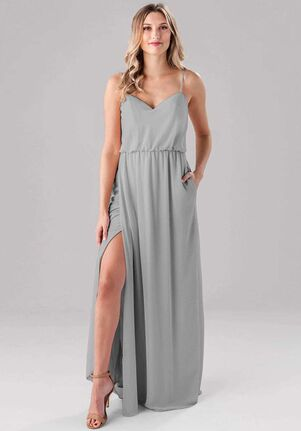 Kennedy Blue Lauren V-Neck Bridesmaid Dress