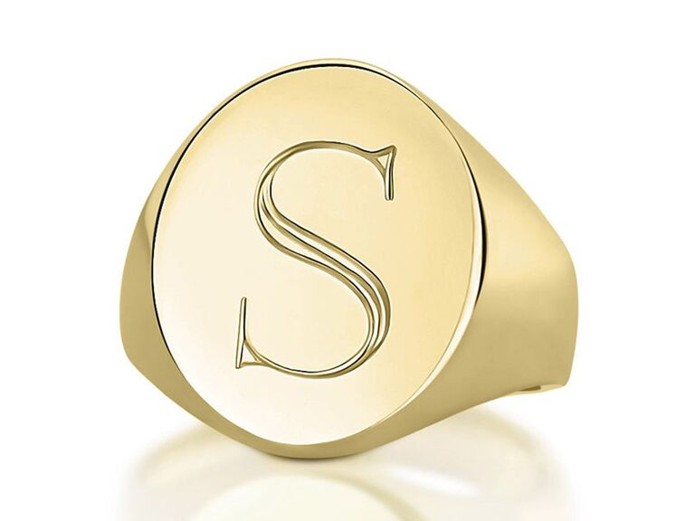 Sarah Chloe pinky signet ring