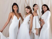 Katharine Polk bridal collection