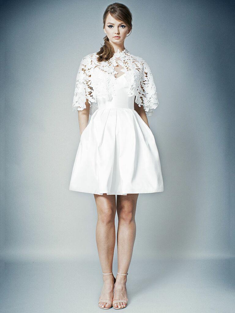 Romona Fall 2018 wedding dress pocket trend