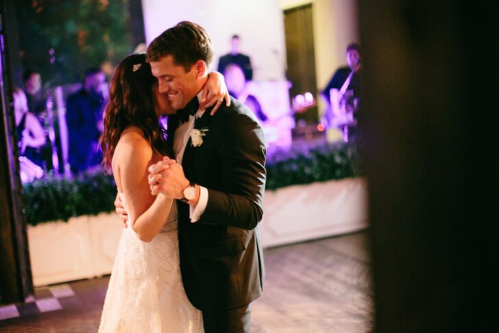 Liz and Dave's First Dance