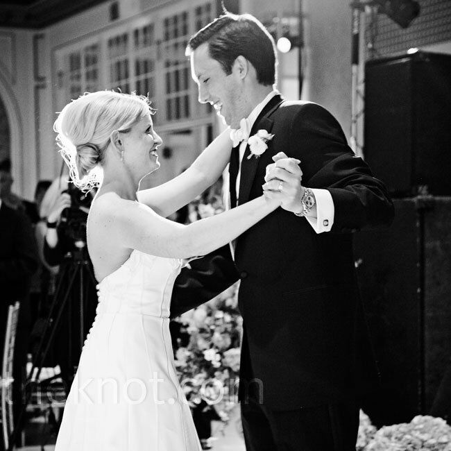 The newlyweds danced to Michael's song of choice: Lye Lovett's I Know You Know.