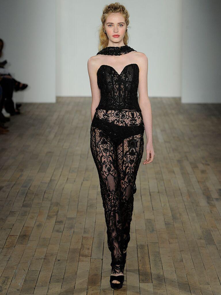 c99118965a382 Lazaro Fall 2018 Collection: Bridal Fashion Week Photos