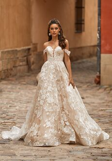 Moonlight Collection J6818 A-Line Wedding Dress