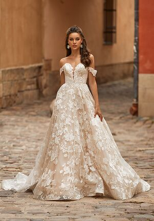 Moonlight Collection J6818 A-Line Wedding Dress
