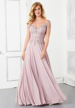 MGNY 72309 Blue,Pink Mother Of The Bride Dress