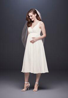 David's Bridal David's Bridal Style WG3922 Sheath Wedding Dress