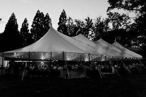 Buena Vista Outdoor Tented Reception