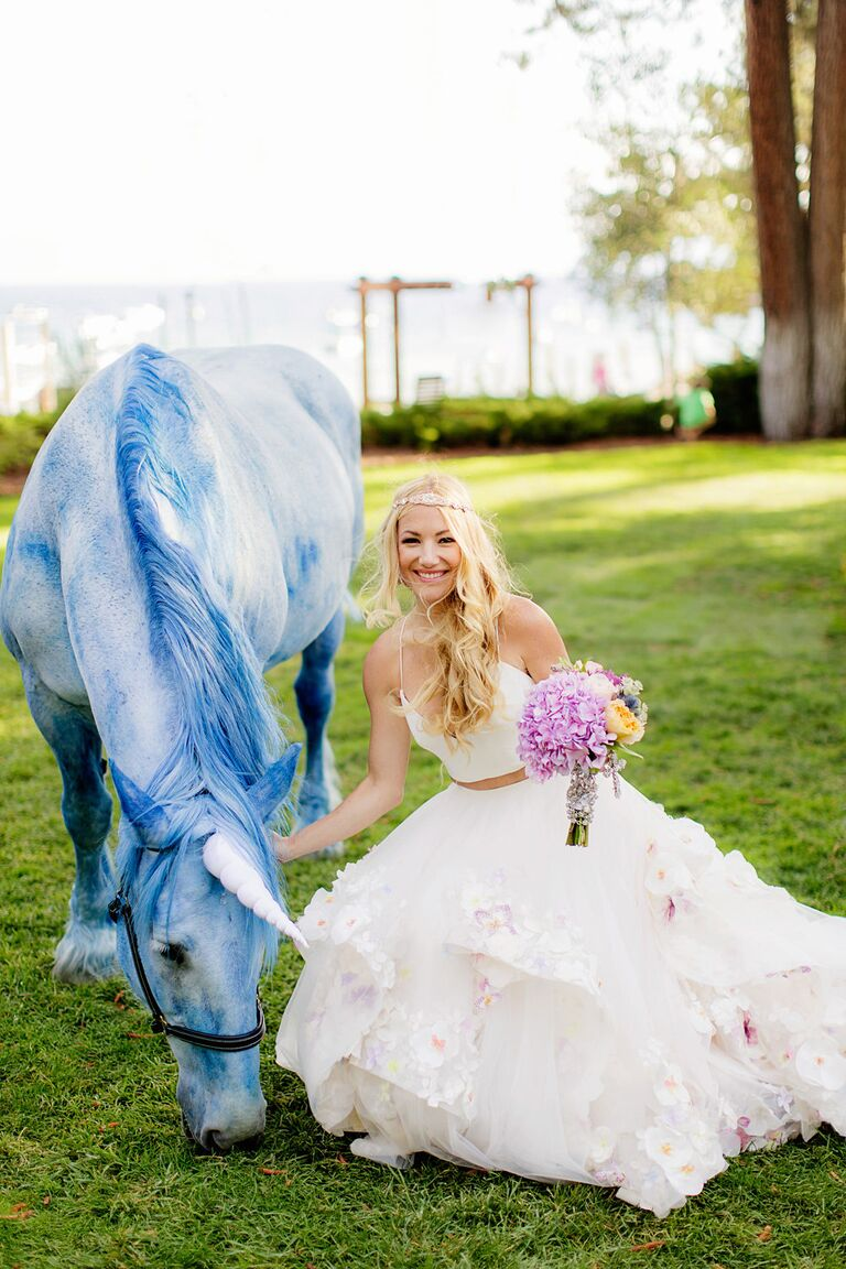 Designer Hayley Paige Had The Most Magical Wedding Weekend - Used Hayley Paige Wedding Dress