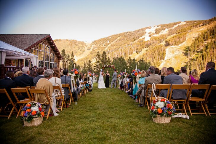 Beano's Cabin Wedding Ceremony