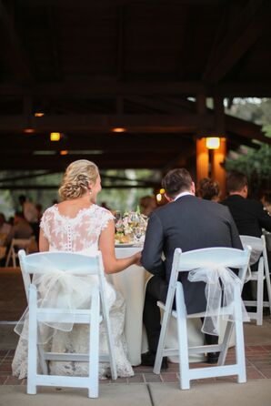 Sweetheart Table at Descanso Gardens Reception