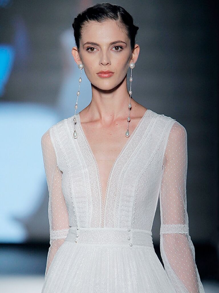 e410dbe80db Rosa Clará 2019 Collection  Bridal Fashion Week Photos