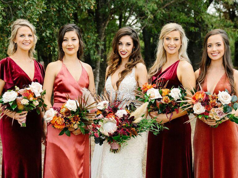 Bridesmaid half updo