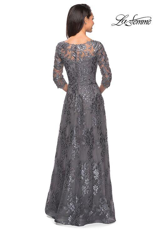 La Femme Evening 27885 Blue Mother Of The Bride Dress