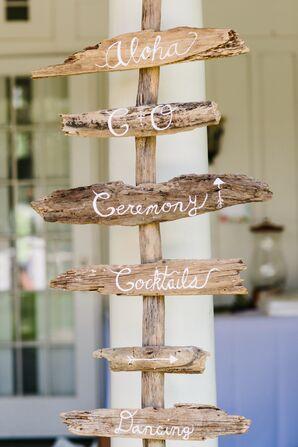 DIY Driftwood Signage