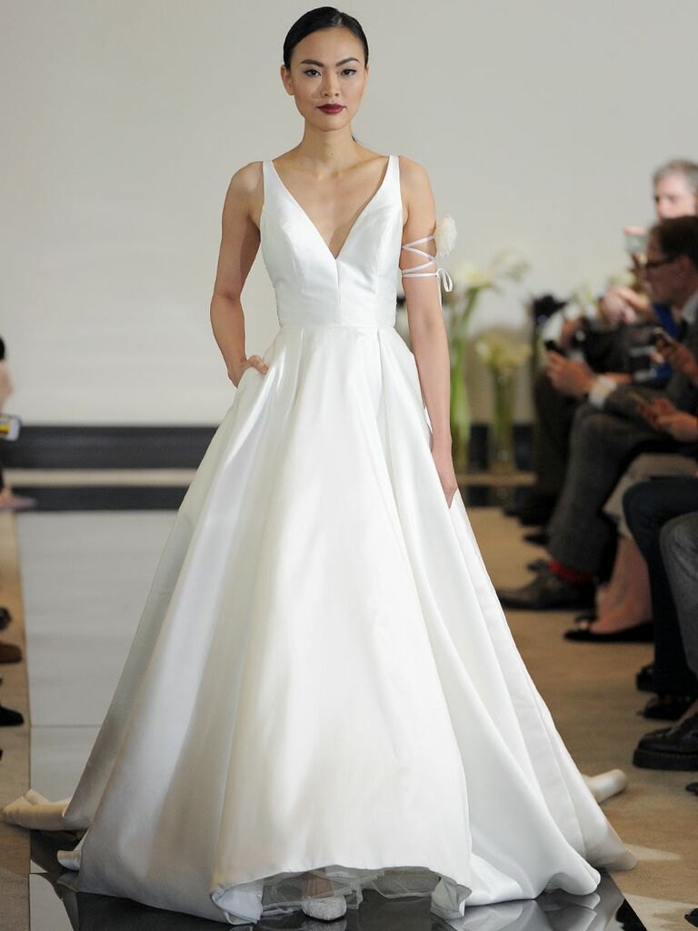 Justin Alexander Ball Gown Wedding Dress