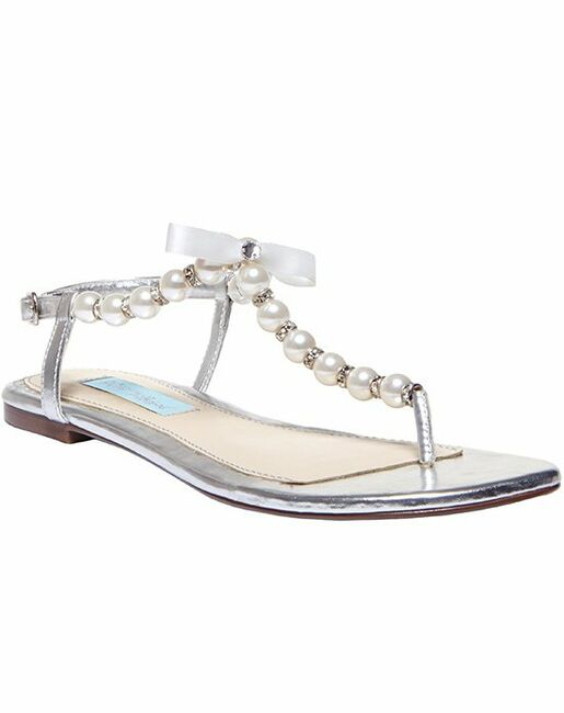 Blue by Betsey Johnson SB-Pearl- Silver Silver Shoe